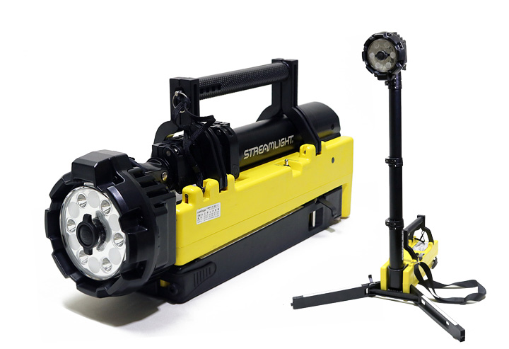 STREAMLIGHT ストリームライト 104Y ポータブルシーンライト(充電式投光器) 防災 レスキュー 作業