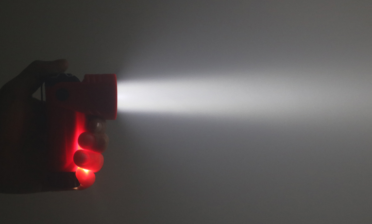 STREAMLIGHT ストリームライト VANTAGE180 照射画像