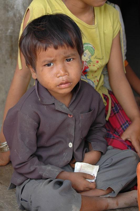 カンボジア プノンペンのゴミ山1